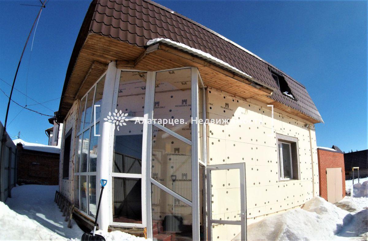 продается индивидуальный трехэтажный жилой дом в советском районе томска. матери...